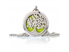 aroma náhrdelník strom života ocel