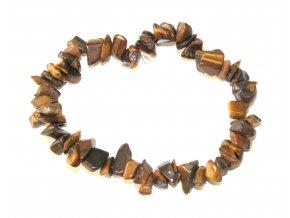 Náramek ze Vzácných Kamenů - Tygří Oko
