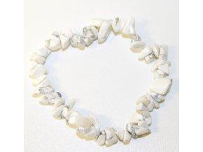 Náramek ze Vzácných Kamenů - Jaspis Bílý