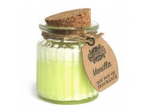 vonná svíčka vanilka