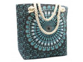 látková taška mandala