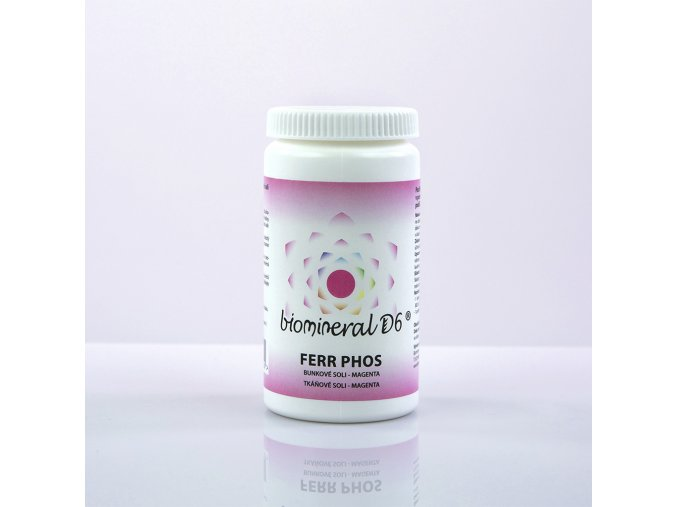 Biomineral D6® Ferrum Phosphoricum – MAGENTA
