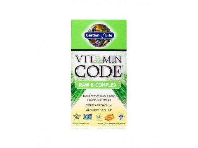 Vitamin code raw b Komplex formula 120 500x600