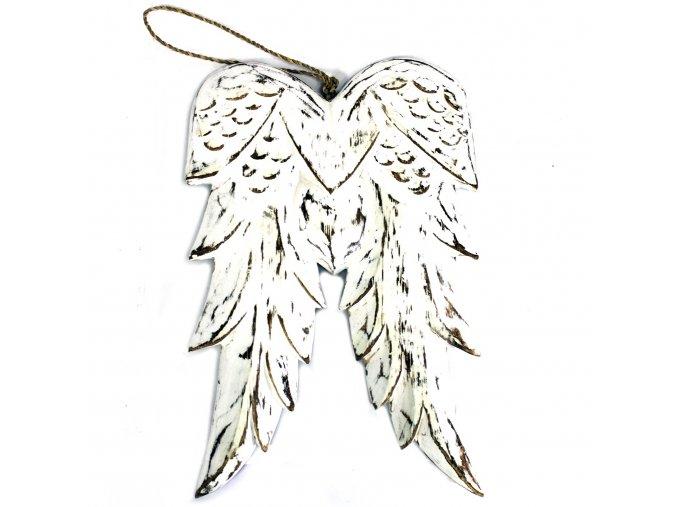 andělsá dřevěná křídla