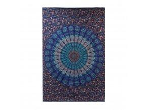 Bavlněný Přehoz na Postel (Velký) Klasická Mandala