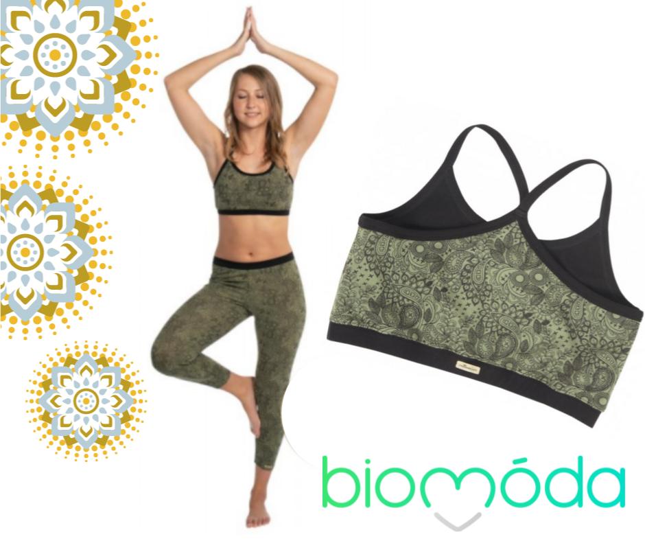 Joga či pilates v oblečení z Biomody