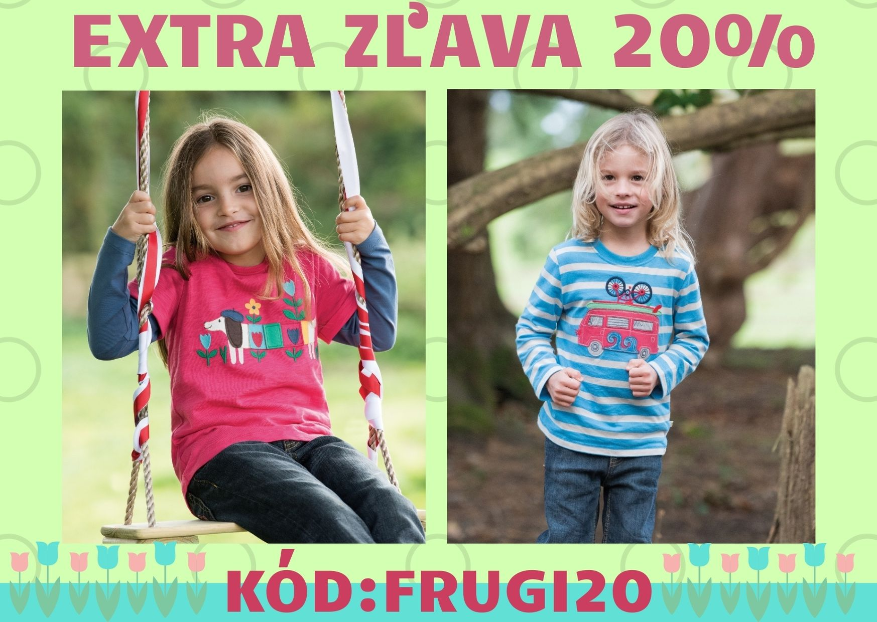 FRUGI - extra zľava 20%