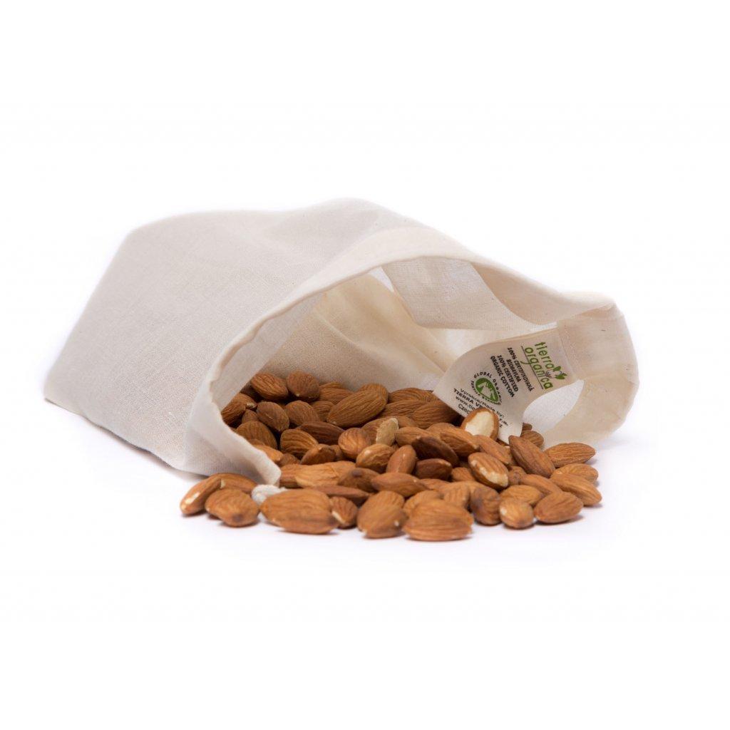 Vrecko z biobavlny na výrobu orechového mlieka, syru a štiav - Casa Organica