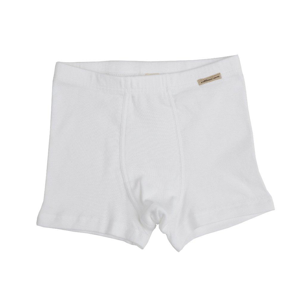 Chlapčenské boxerky z biobavlny biele - Comazo