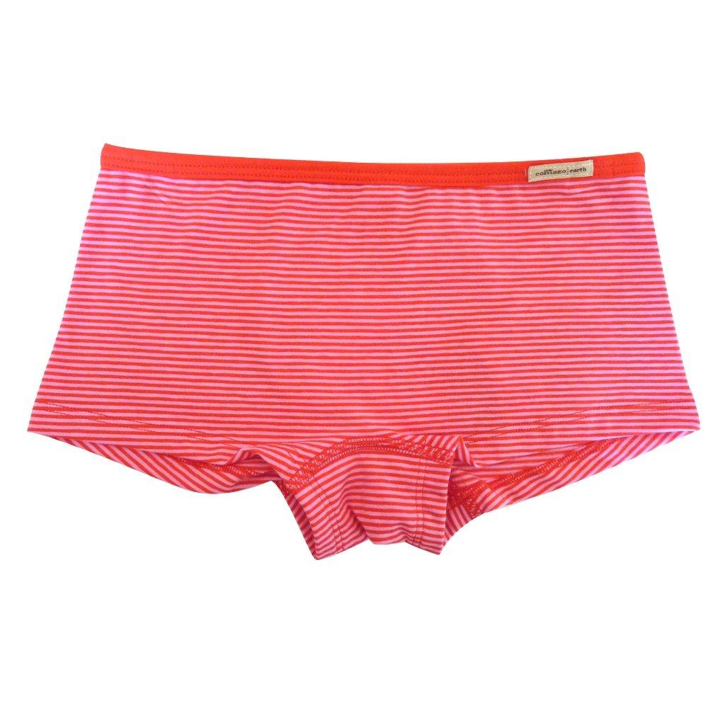 Dievčenské nohavičky hipster červeno-ružové - Comazo
