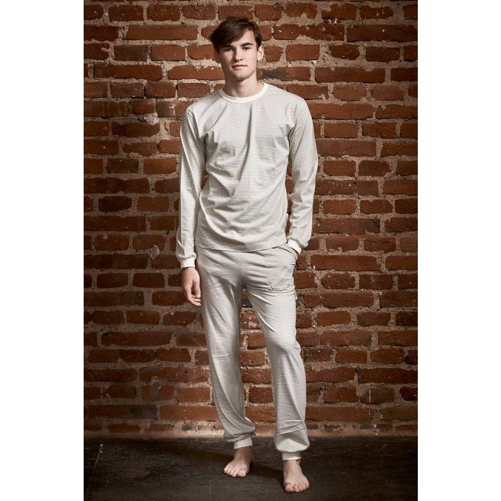 Pánske pyžamo dlhé námornícke - Biošatník