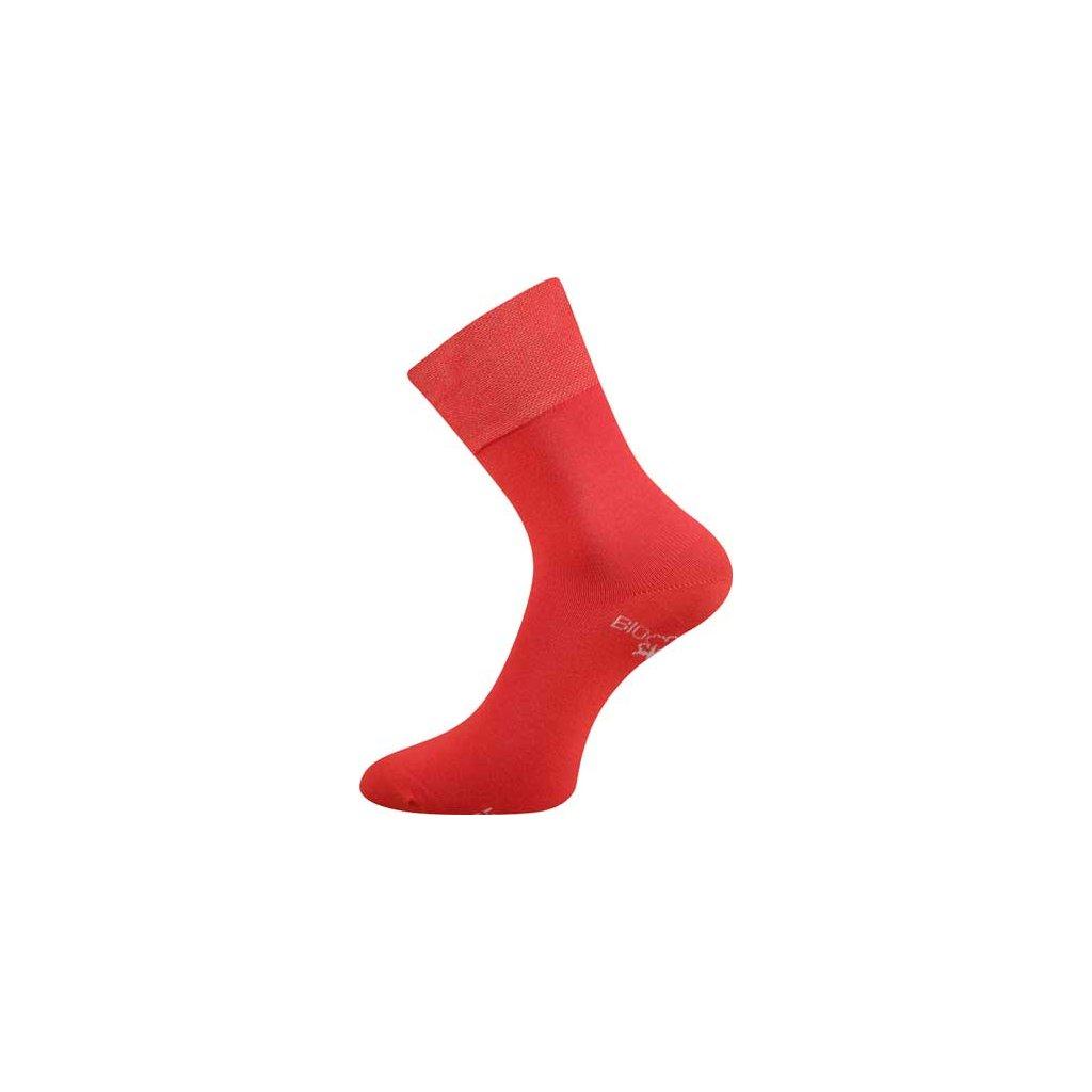 Ponozky Bioban cervene