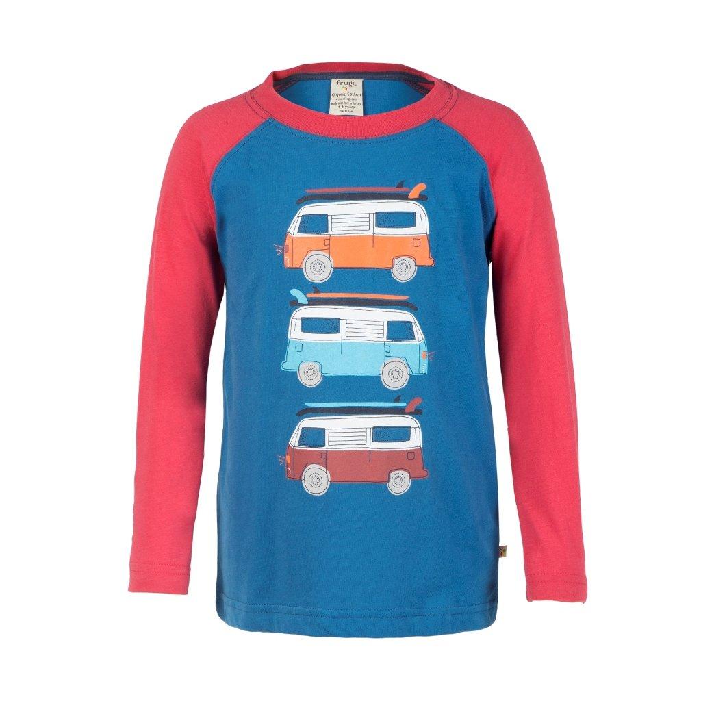 Tričko s karavanmi - Frugi
