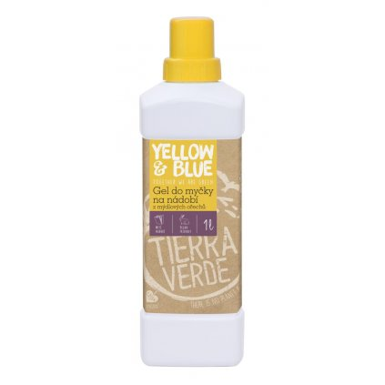 Gél do umývačky riadu z mydlových orechov - Yellow & Blue