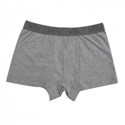 Chlapčenské boxerky sivý melír - Comazo