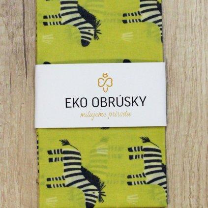 Rozkobal eko obrusky zebry 01