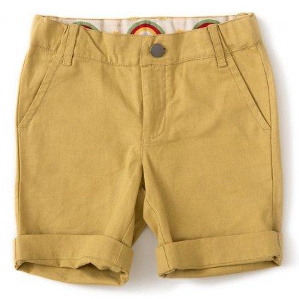 Krátke nohavice žltozelené - Little Green Radicals