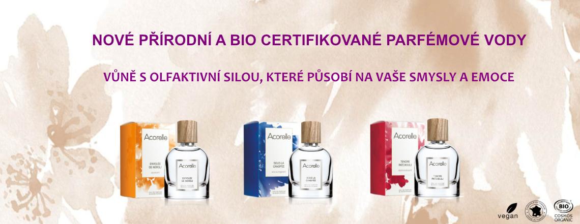 Nové parfémové vody