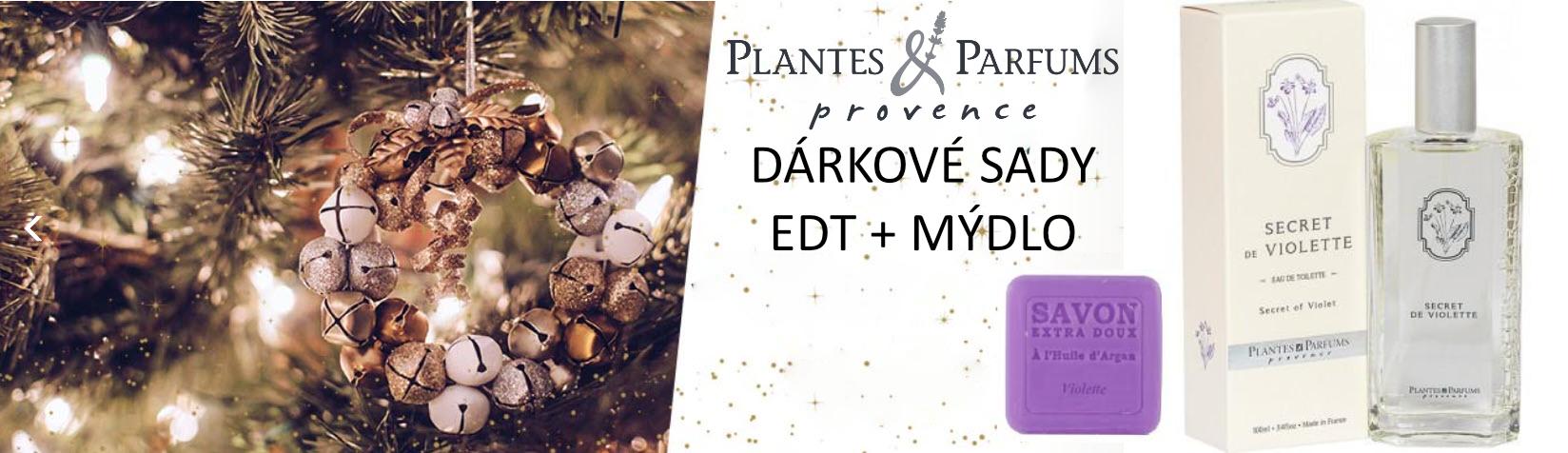 PLANTES ET PARFUMS Sada EDT 100ml + mýdlo s arganem 100g
