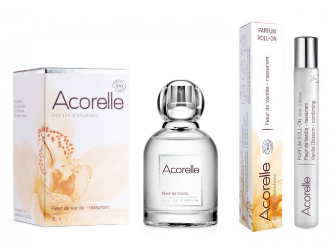 Acorelle EDP Roll on Kvety vanilky