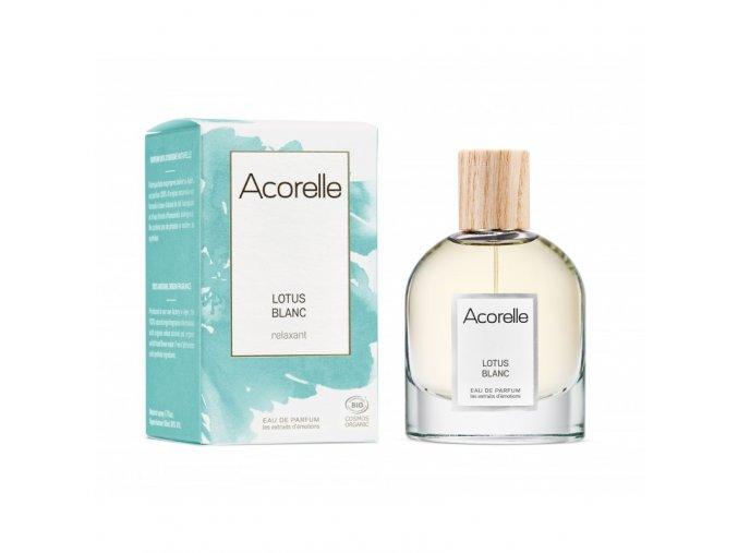 Acorelle eau de parfum bio lotus blanc 50ml