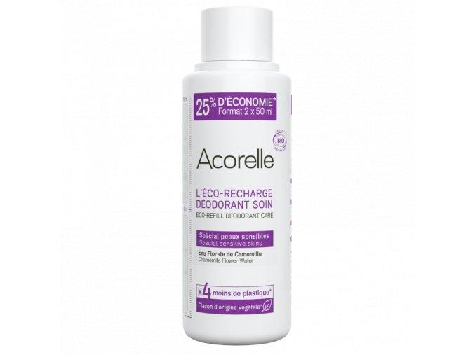 Acorelle nahradni napln eco recharge deodorant roll on special sensitive skin 100ml bionaturalia.cz