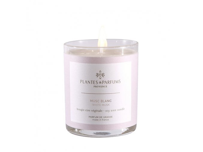 Plantes et Plantes vonna svicka bile pizmo parfumee musc blanc 180g
