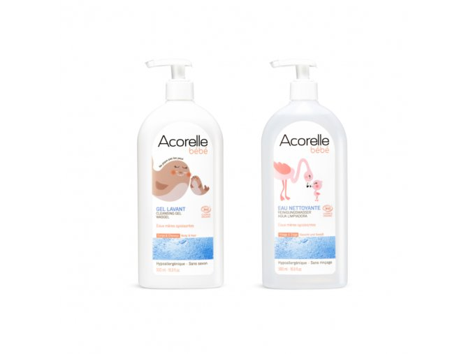 Acorelle SADA myci gel cistici pletova voda pro miminka