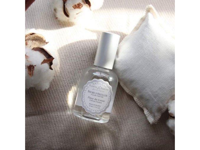 PP polstarkovy parfem kvety bavlny