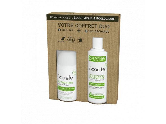 Acorelle sada deodorant dlouhotrvajici efekt a nahradni napln