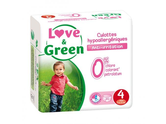 Love and Green plenkove kalhotky vel 4