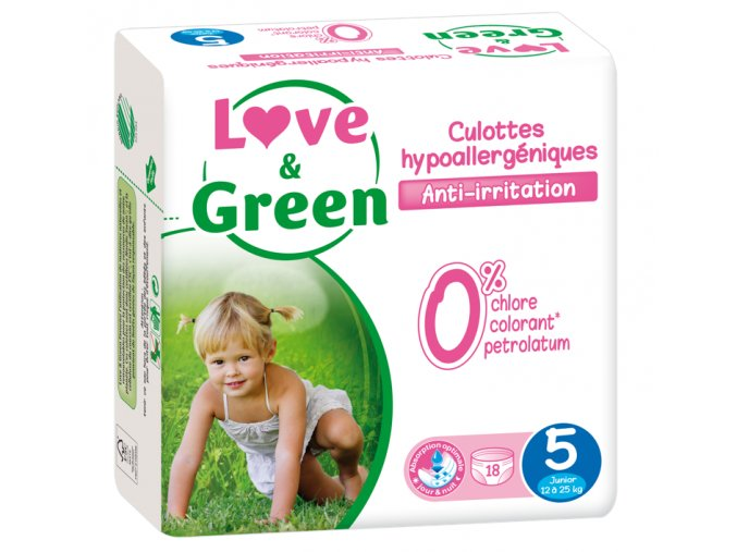 Love and Green plenkove kalhotky vel 5