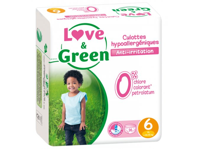 Love and Green plenkove kalhotky vel 6