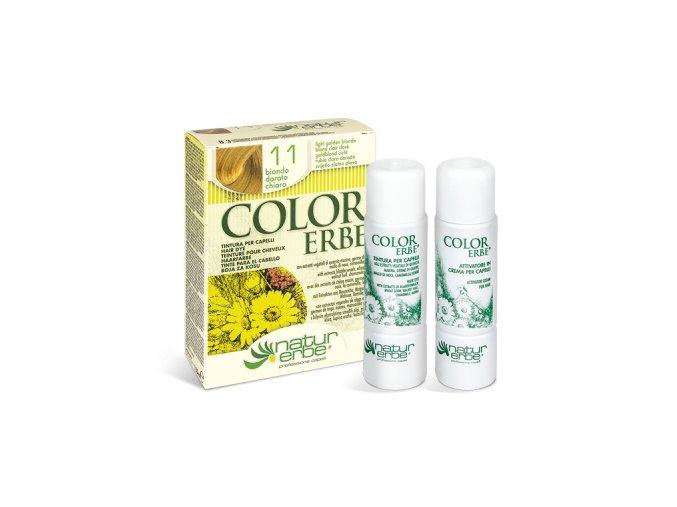 color erbe prirodni barva vlasy bio svetle zlata blond 11 bionaturalia
