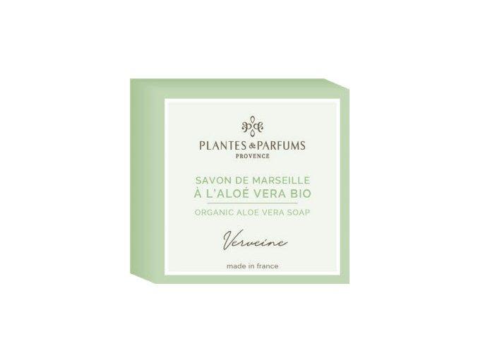 Plantes et Parfums tuhe mydlo Verbena aloe vera 100g