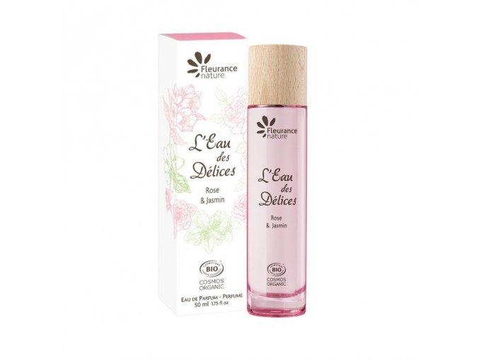 Fleurance Nature Damska parfemova voda Eau Des Delices Rose Jasmin 50ml