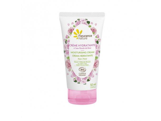 Fleurance Nature Hydratacni krem s hydrolatem ruze 50ml