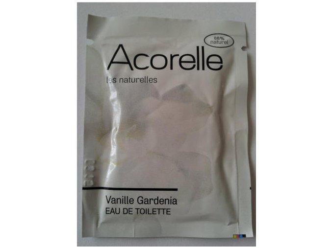 ACORELLE Dámská toaletní voda (EDT) Vanilka gardenia VZOREK 3ml