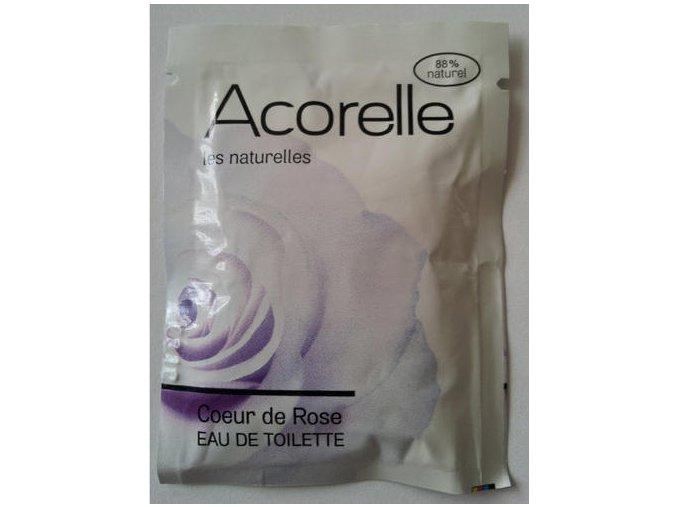 ACORELLE Dámská toaletní voda (EDT) Růže VZOREK 3ml