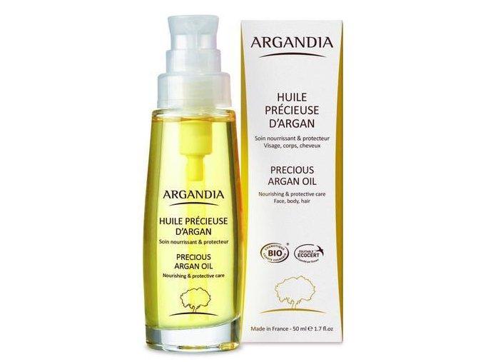 ARGANDIA Arganový pleťový olej 50ml