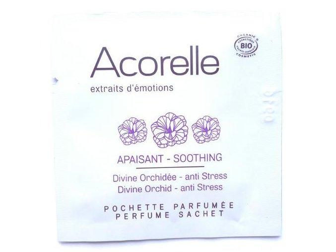 ACORELLE Parfémovaný vonný kapesníček Orchidej 1,5ml