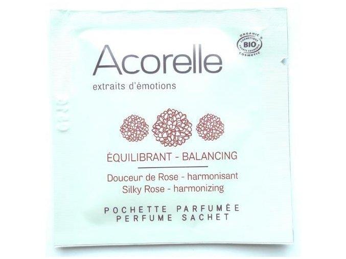 ACORELLE Parfémovaný vonný kapesníček Růže 1,5ml