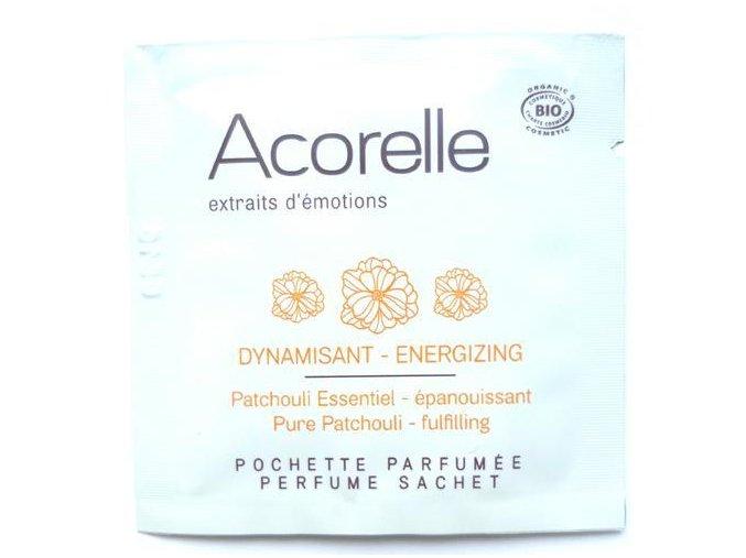 ACORELLE Parfémovaný vonný kapesníček Pačuli 1,5ml