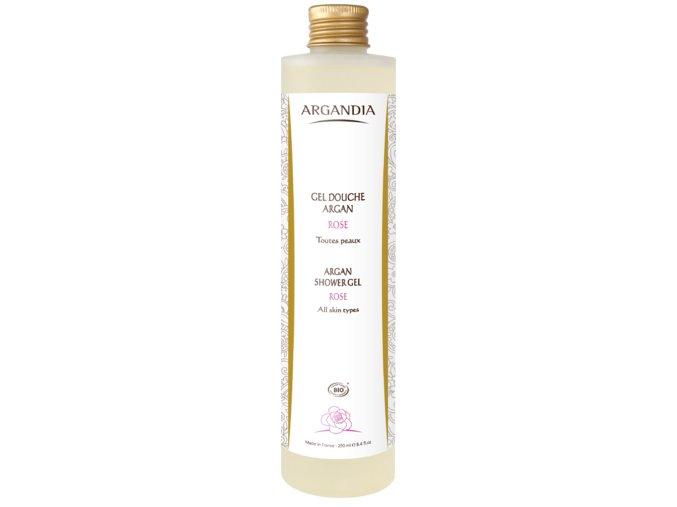 ARGANDIA Sprchový gel argan - růže 250ml