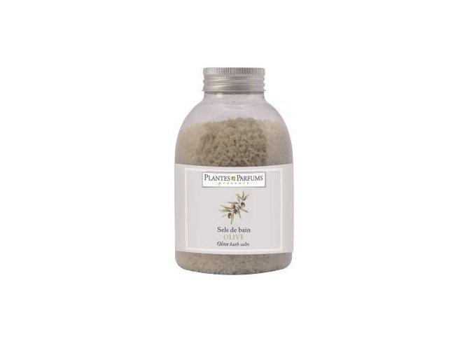 PLANTES ET PARFUMS Koupelová sůl - oliva 500g