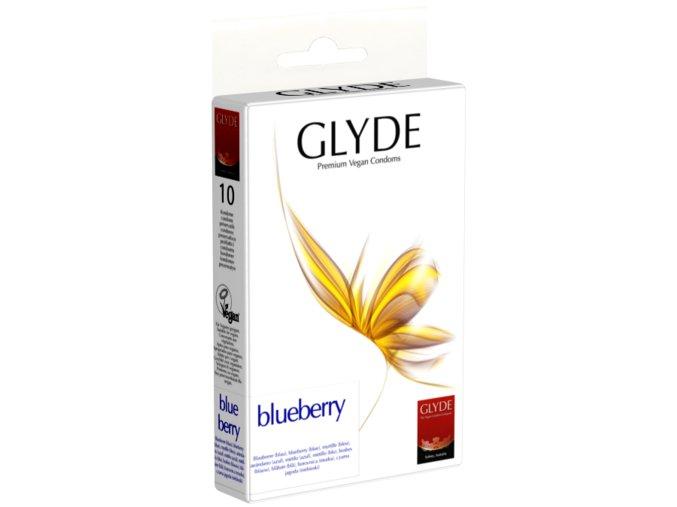 GLYDE Kondomy Bluberry 10ks