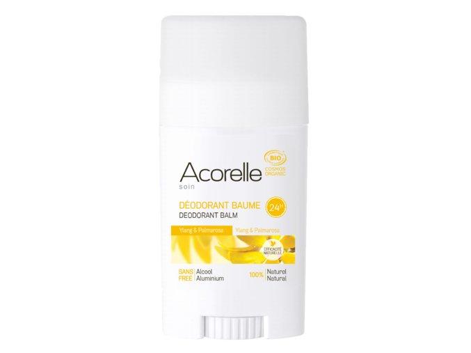 ACORELLE Tuhý deodorant Ylang - Palmarosa 40g