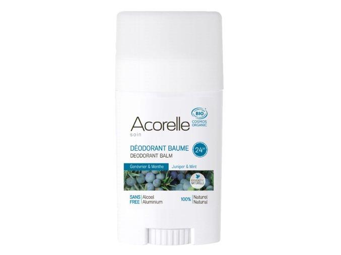 ACORELLE Tuhý deodorant Jalovec - Máta 40g