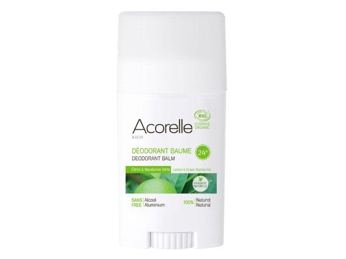 ACORELLE Tuhý deodorant Citron - Zelená mandarinka 40g