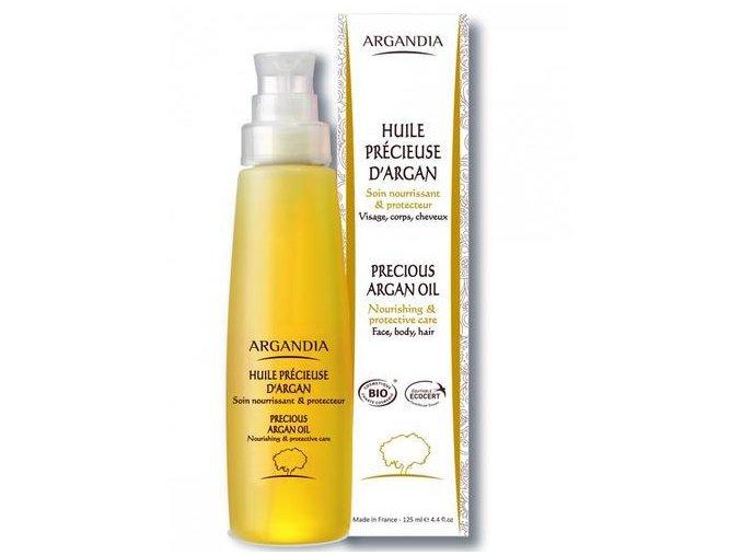 ARGANDIA Arganový pleťový olej 125ml